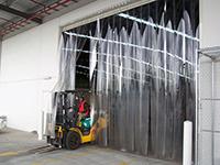 ПВХ защитные шторы