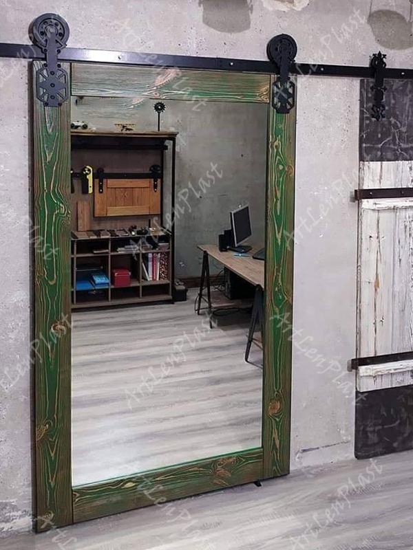 Սլայդ դռներ Լոֆթ ոճի սլայդ դուռ