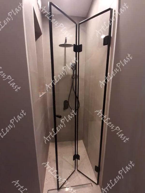Душевые кабины с складными дверями Душевые кабина с складными дверями
