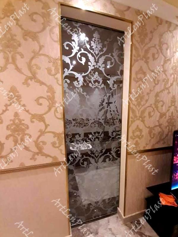 Սլայդ դռներ Ապակյա սլայդ դուռ