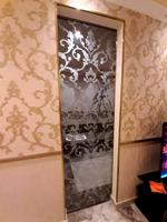 Стеклянные слайд дверь