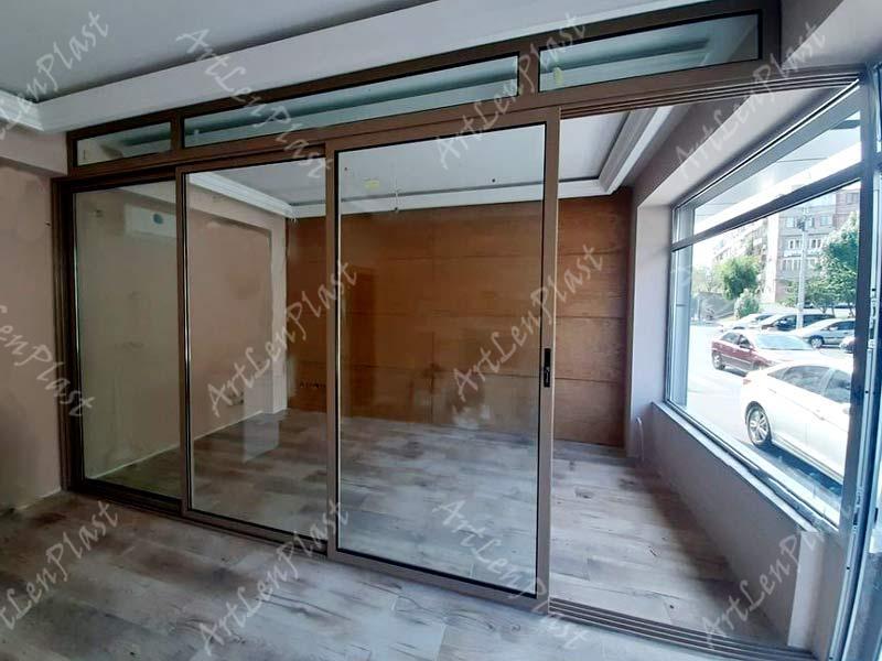 ალუმინის სლაიდ კარები