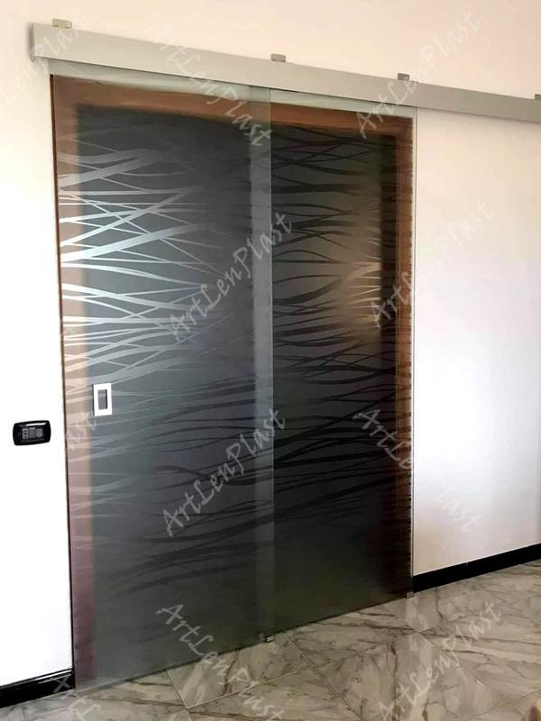 Սլայդ դռներ Ապակե սլայդ դուռ