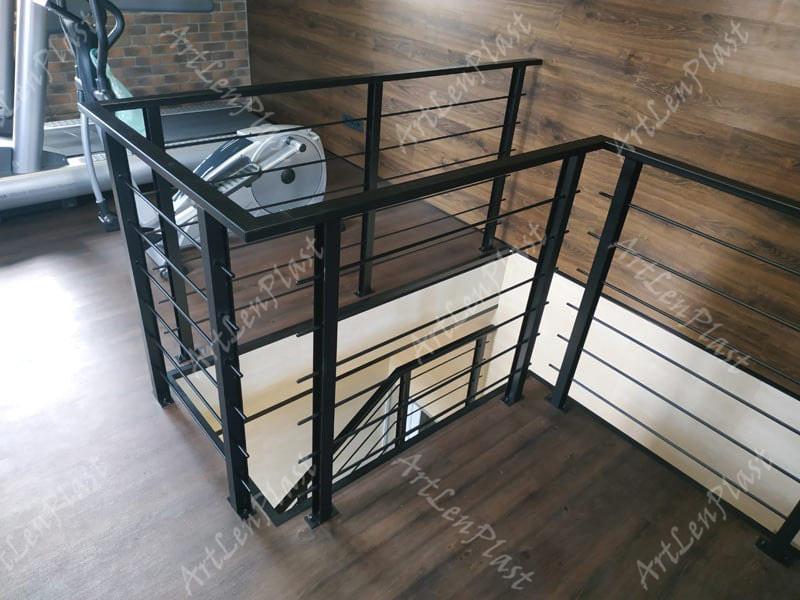 Stair railings, banisters