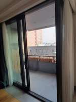 Раздвижные двери с термоизоляцией