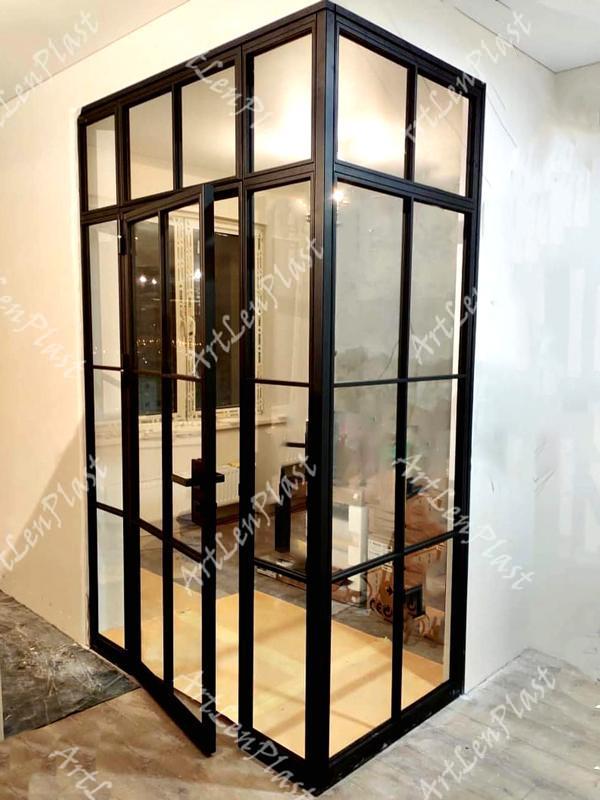 Metal constructions  Metal doors