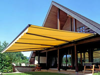 Marquises, awnings