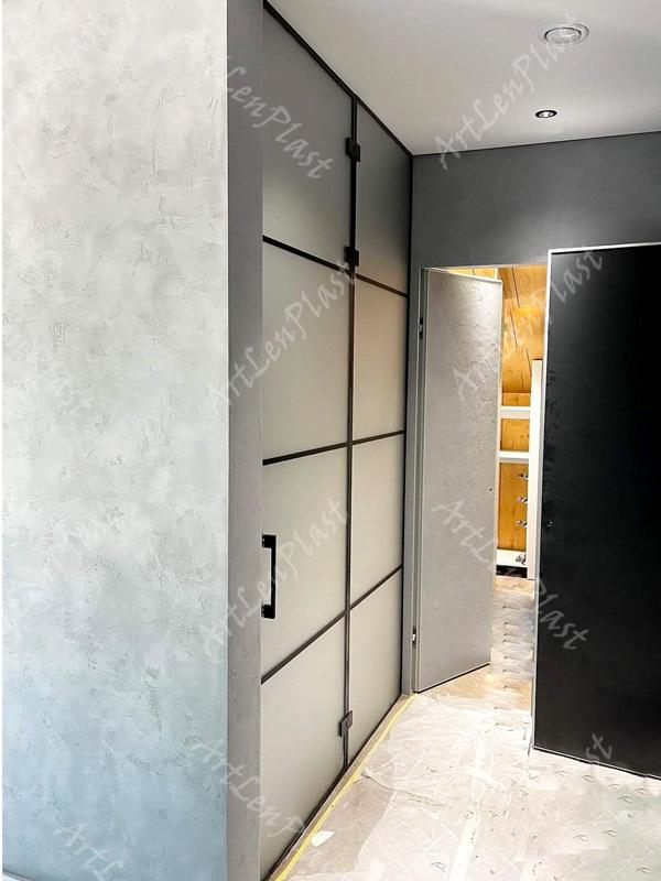 Metal constructions  Loft doors