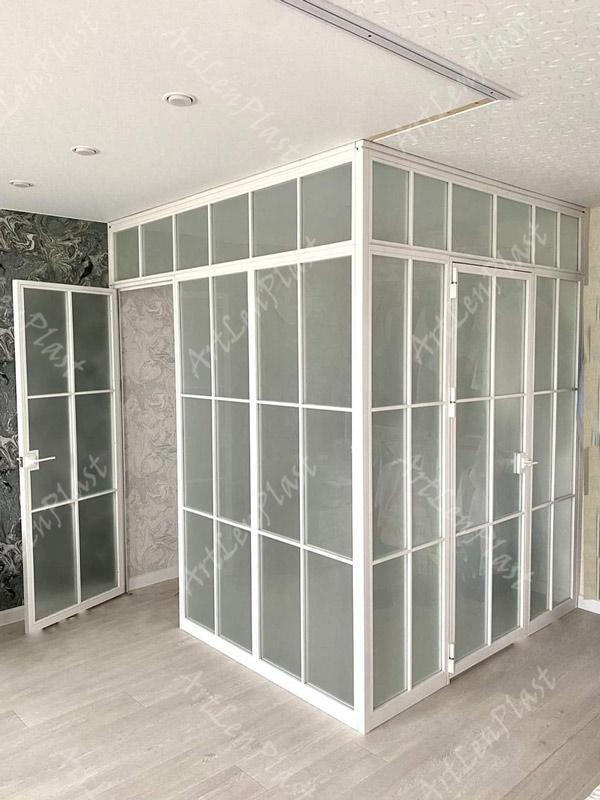 Metal constructions  Loft style door