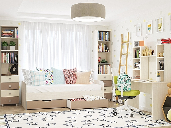 Furniture selection for children's room. What factors should be taken into consideration?