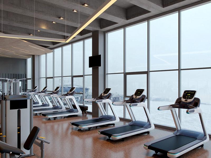 Какие окна выбрать для спортивного зала или фитнес клуба?