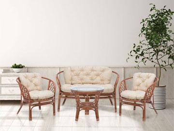 Комплект мебели ротанг