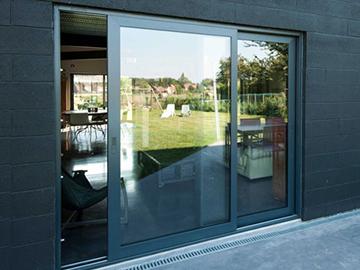Алюминиевые раздвижные двери, ассортимент раздвижных дверей
